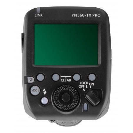 Kontroler radiowy Yongnuo YN560-TX Pro do Canon panel LCD