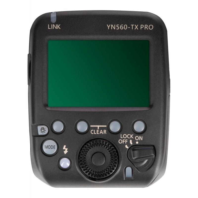 Kontroler radiowy Yongnuo YN560-TX Pro do Nikon panel sterowania LCD