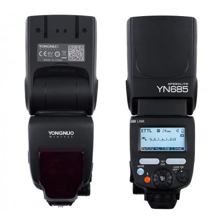 Lampa błyskowa Yongnuo YN685 do Nikon front tył