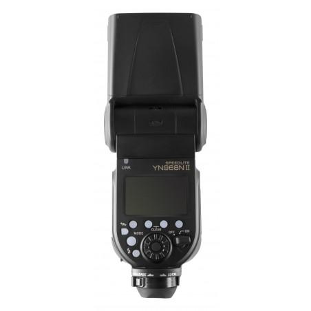 Lampa błyskowa Yongnuo YN968N II do Nikon tył wysokość
