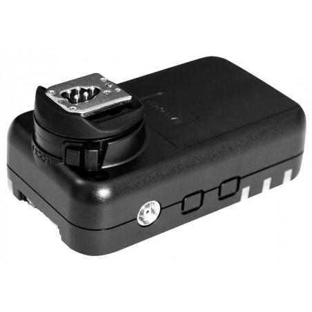 Zestaw dwóch wyzwalaczy radiowych Yongnuo YN622N II do Nikon tył stopka