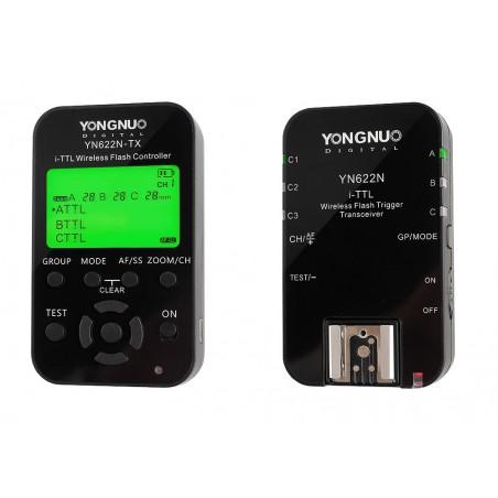 Zestaw kontroler z wyzwalaczem radiowym Yongnuo YN622N KIT do Nikon zestaw