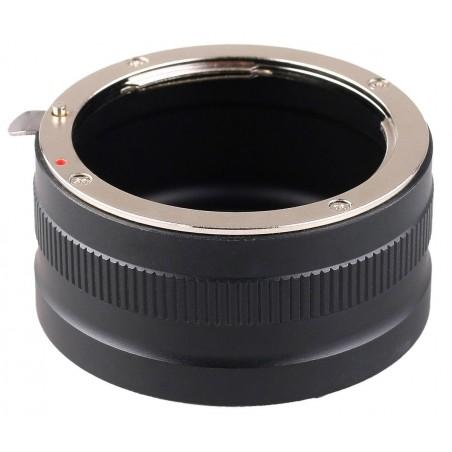 Adapter bagnetowy JJC Kiwifotos LMA-NK_EM - Nikon F / Sony E - Zdjęcie 1