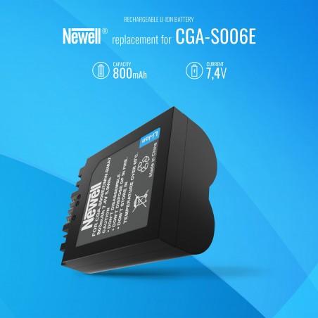 Akumulator Newell zamiennik CGA-S006E - Zdjęcie 5