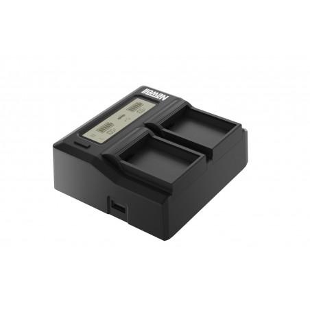Ładowarka dwukanałowa Newell DC-LCD do akumulatorów NP-FZ100 - Zdjęcie 1