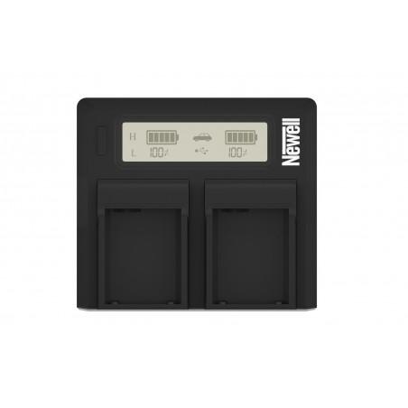 Ładowarka dwukanałowa Newell DC-LCD do akumulatorów NP-FZ100 - Zdjęcie 3