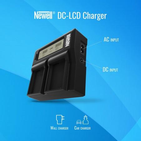 Ładowarka dwukanałowa Newell DC-LCD do akumulatorów NP-FZ100 - Zdjęcie 5