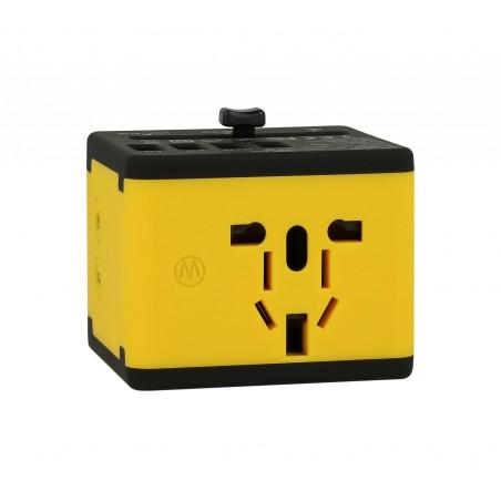 Adapter sieciowy z USB dla podróżujących Superbee JY-192 - czarny - Zdjęcie 4