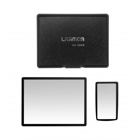 Osłony LCD ochronna i przeciwsłoneczna GGS Larmor GEN5 do Nikon D7100 / D7200 - Zdjęcie 1