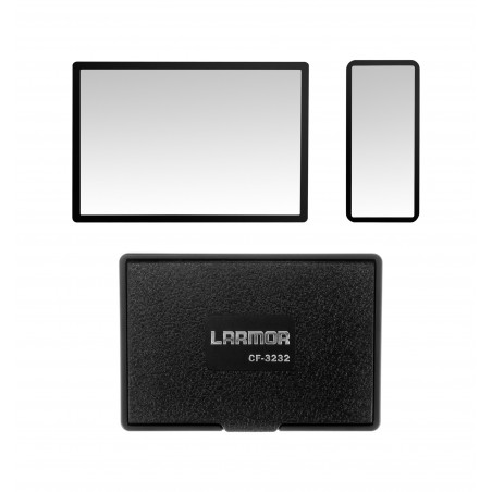 Osłony LCD ochronna i przeciwsłoneczna GGS Larmor GEN5 do Canon 5D Mark III / 5DS / 5DS R - Zdjęcie 1