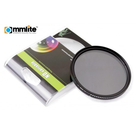 Filtr szary regulowany Commlite Fader - 49 mm - Zdjęcie 4