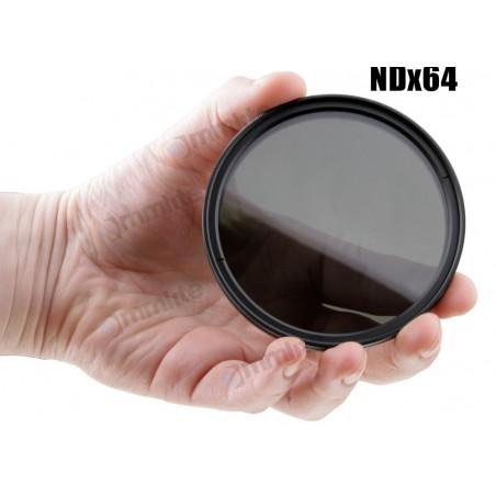 Filtr szary regulowany Commlite Fader - 55 mm - Zdjęcie 3