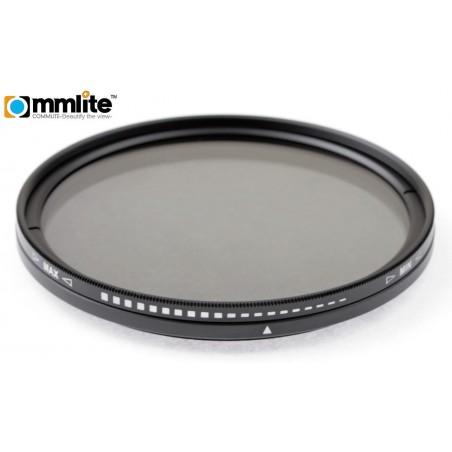 Filtr szary regulowany Commlite Fader - 58 mm - Zdjęcie 1