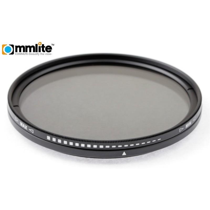 Filtr szary regulowany Commlite Fader - 72 mm - Zdjęcie 1