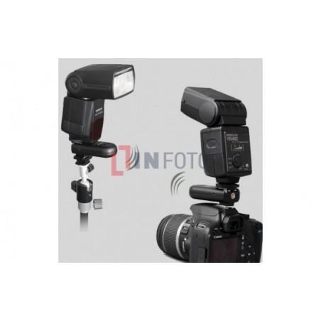 Zestaw dwóch wyzwalaczy radiowych Yongnuo RF603N II z kablem N1 do Nikon logo infoto