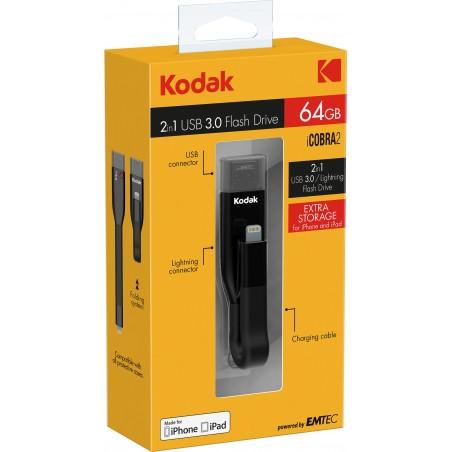 Flash Drive Kodak iCobra2 - 64 GB - Zdjęcie 1