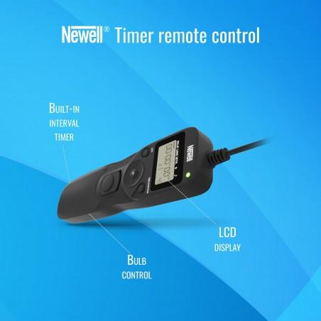 Wężyk spustowy z interwałometrem Newell RS60-E3 do Canon - Zdjęcie 5