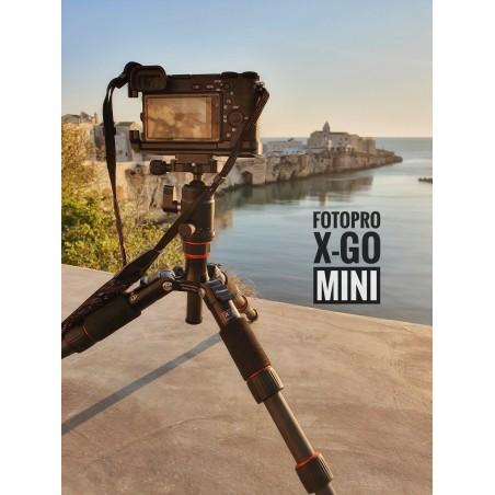 Statyw Fotopro X-go mini z głowicą kulową FPH-42Q - Zdjęcie 8