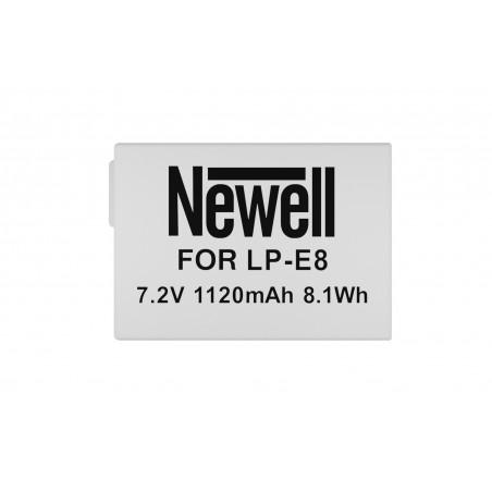 Akumulator Newell zamiennik LP-E8 - Zdjęcie 3