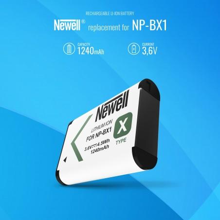 Akumulator Newell zamiennik NP-BX1 - Zdjęcie 5