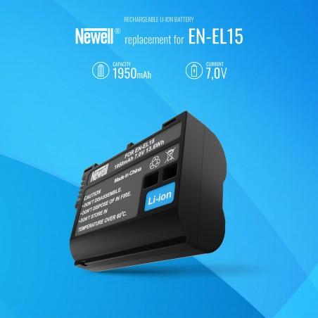 Akumulator Newell zamiennik EN-EL15 - Zdjęcie 5