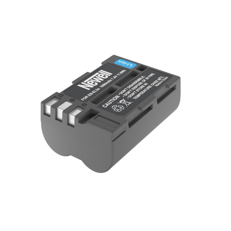 Akumulator Newell zamiennik EN-EL3e - Zdjęcie 1