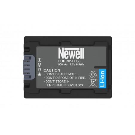 Akumulator Newell zamiennik NP-FH50 - Zdjęcie 3