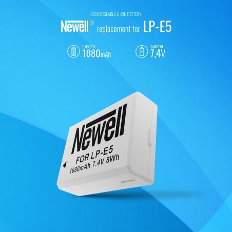 Akumulator Newell zamiennik LP-E5 - Zdjęcie 5