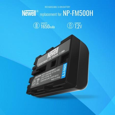 Akumulator Newell zamiennik NP-FM500H - Zdjęcie 5