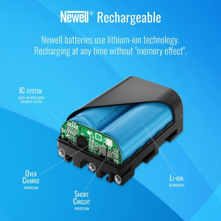 Akumulator Newell zamiennik NP-FM500H - Zdjęcie 6