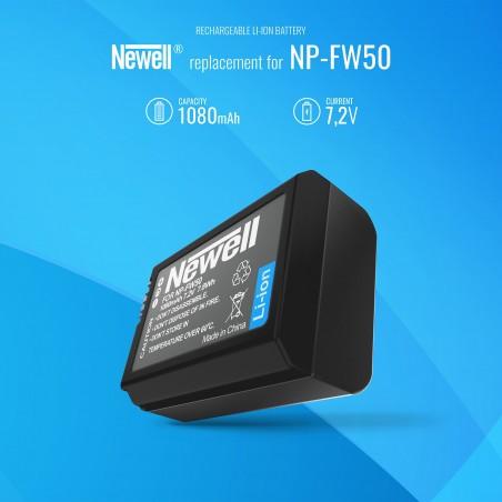 Akumulator Newell zamiennik NP-FW50 - Zdjęcie 5