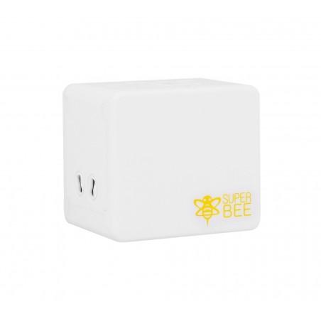Adapter sieciowy z USB dla podróżujących Superbee JY-192 - biały - Zdjęcie 5