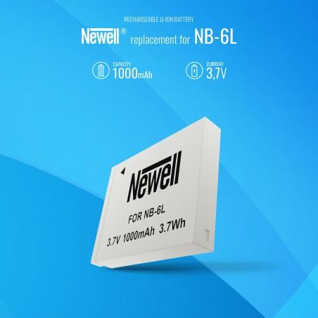 Akumulator Newell zamiennik NB-6L - Zdjęcie 5