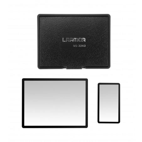 Osłony LCD ochronna i przeciwsłoneczna GGS Larmor GEN5 do Nikon D500 - Zdjęcie 1